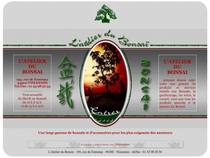 Atelier du bonsai